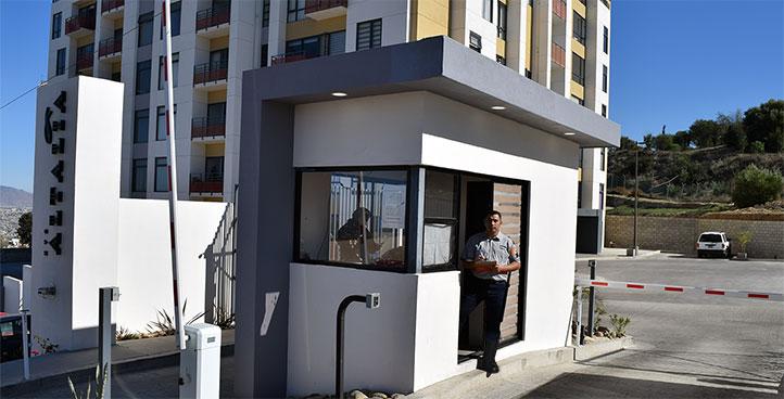 Control de accesos residencial Grupo Intseg